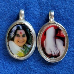 Silver Pendants with Feet (small)